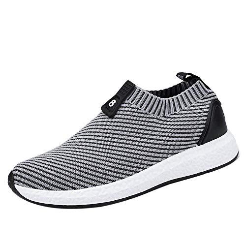 MMLC_Scarpe da Ginnastica Uomo Donna Sportive Sneakers Scarpe da Trail Running Uomo Scarpe da Atletica Leggera Respirabile Scarpe da Corsa Cuscino