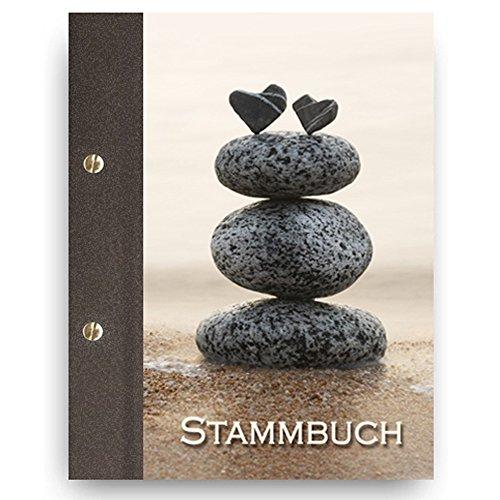 Stammbuch der Familie 'Heartstone' Familienbuch Familienstammbuch Stammbaum Stammbücher - A5 braun