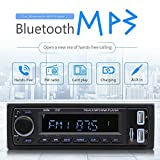 Prom-near Universal-DC 12V Multifunktions-Bluetooth Auto Stereo Audio In-Dash FM MP3 Radio Player ISO Standard-Schnittstelle mit AUX IN SD 2USB MP3 MP4 MP5 MMC WMA Autoradio-Player