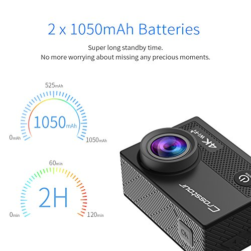 Zoom IMG-3 crosstour action cam ct8000 giallo