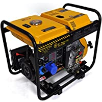 6 Kw- Diesel-Stromerzeuger - Stromaggregat mit Handstart/E-Start