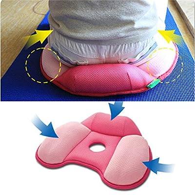 Büro Damen Frauen Stuhl Sitzfläche Hüfte hochdrücken Former Yoga-Kissen Auflage Matte Pflege