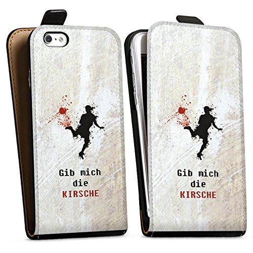 Apple iPhone X Silikon Hülle Case Schutzhülle Fußball Spruch Sport Downflip Tasche schwarz