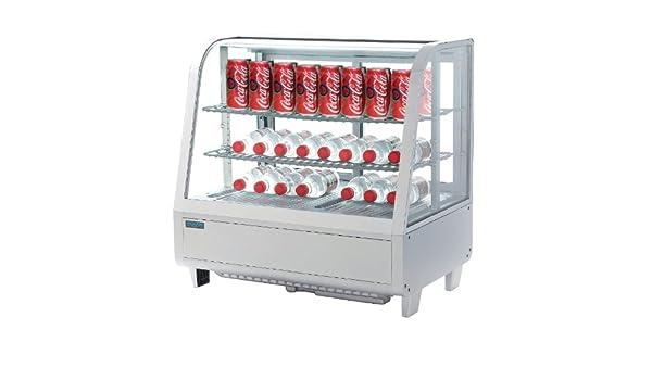 Minibar Kühlschrank Polar : Polar zinntheken kühl display weiß 100 liter commercial kühlschrank