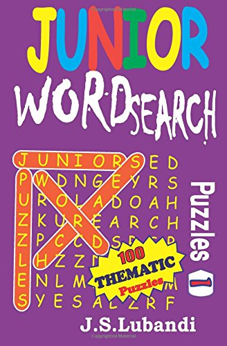 Junior Word Search Puzzles: Volume 1