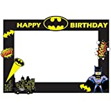 Party Propz Batman Theme Photobooth Frame (2ft)