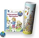 Ravensburger Junior ab 2 Jahren - Wieso? Weshalb Warum? Kinderbuch | Zähne putzen, Pipi machen + Kinder Wimmel - Poster