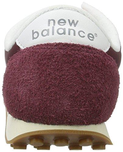 New Balance - U410, Sneaker Uomo Rosso (Burgundy)