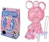 Disney CRYSTAL GALLERY PETIT FRIENDS Minnie Mouse Mini 3D Puzzle (Blue)