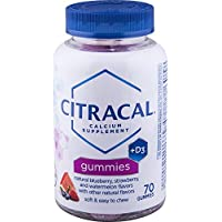 Citracal Calcium Gummies, 70 Count