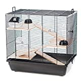 Pet Ting Robinson Hamster Cage Wooden Accessories Wheel Ladder Syrian Large
