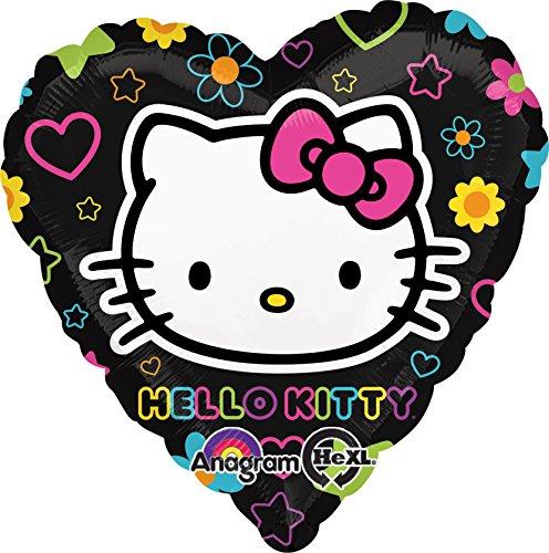 Amscan Folienballon mit Hello Kitty-Design (Tween Heart ()