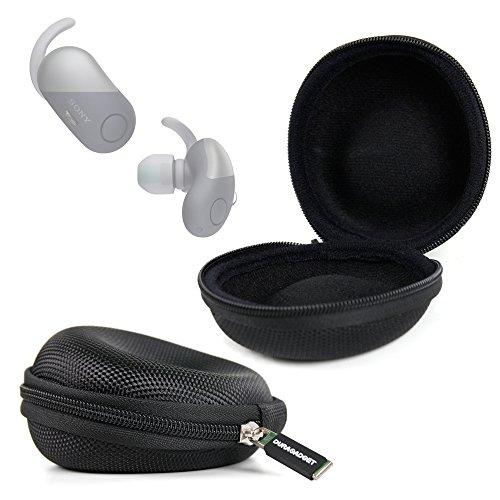 DURAGADGET Coque étui de Protection pour écouteurs Sony WF-SP700N, Jabra Elite 45e, Sennheiser CX 6.00BT, Philips SHS3300BK