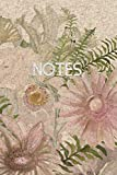 Notes: Floral Ruled Notebook Journal   120 Pages   6x9
