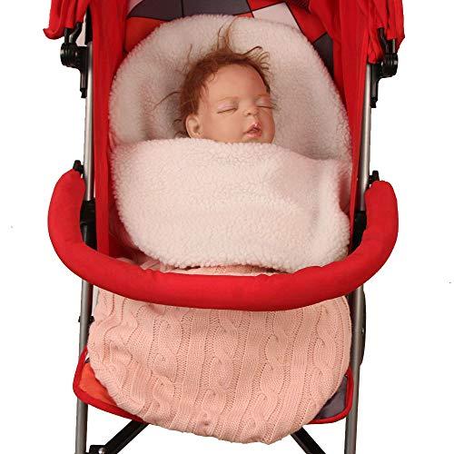 para cochecitos de beb/é sillas de paseo o cunas; LA MANTA ARRULLO ORIGINAL CON EL OSO Manta arrullo de invierno para beb/é Color:Beige ByBoom/® es ideal para sillas de coche p.ej. de las marcas Maxi-Cosi y R/ömer