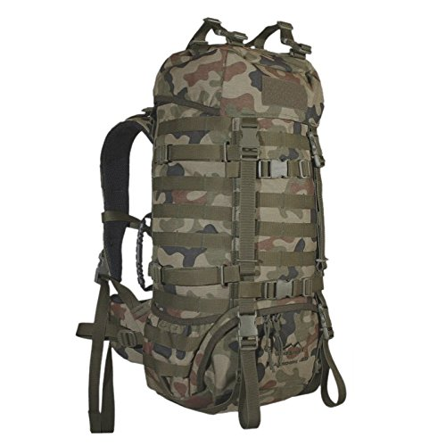 WiSPORT® RACCOON 45 Rucksack | 45 Liter | Militär | Cordura | MOLLE | Marschrucksack | Outdoor | Camping | Abenteuer, Tarnung...