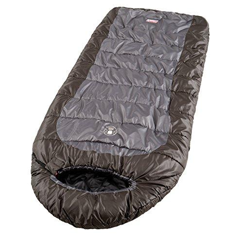 51q5kvuKnsL. SS500  - Coleman Unisex Big Basin Sleeping Bag, Green