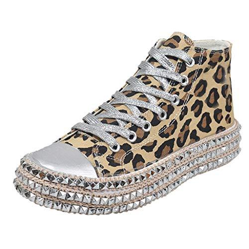 HOUMENGO Mujer Dance Fitness Sneakers Entrenadores Transpirables y Ligero Antideslizante Zapatos Casuales...