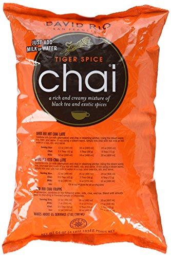 David Rio - Tiger Spice Chai, Nachfüllbeutel (1 x 1.814 kg) - Francisco Honig San