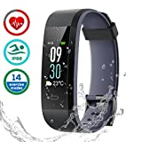 Fitness Tracker Impermeabile IP68, LATEC Activity Tracker Smartwatch