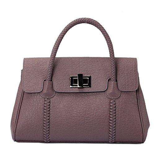 YAAGLE Bonne qualité de sac à main femme en cuir violet