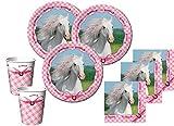 48 Teile Sommer Pferd Party Set für 16 Kinder