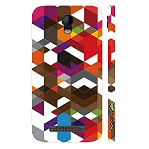 Micromax Bolt Q335 Abstract Art 2 designer mobile hard shell case by Enthopia