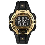 Timex IRONMAN Rugged 30 Full-Size Gold,White sport watch - Sport Watches (Gold, White, Resin, Water resistant, Resin, 100 m, 24 h)