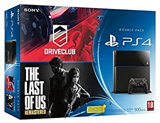 Console PS4 Noire + Driveclub + The Last of Us Remastered (B00WG29DCG) | Amazon price tracker / tracking, Amazon price history charts, Amazon price watches, Amazon price drop alerts