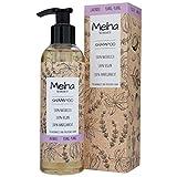 Meina Naturkosmetik - Bio Shampoo mit Lavendel und Ylang-Ylang - Vegan Haarshampoo mit ohne Mikroplastik, Silikone, Sulfate und Parabene