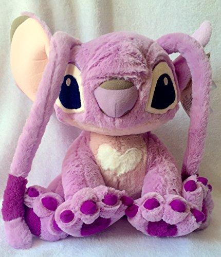 Authentic Disney - Lilo und Stitch - Die Freundin von mischievous Stitch, große Angel Fluffy weichen Plüsch Puppe Spielzeug -