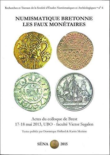 Recherches et travaux de la Société d'études numismatiques et archéologiques