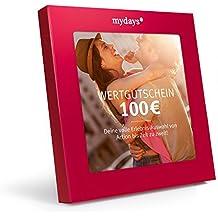 mydays Wertgutschein 100 Euro - Mit hochwertiger Geschenkbox: Die Riesenauswahl für ein außergewöhnliches Erlebnis