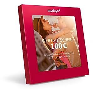 mydays Wertgutschein 100 Euro – Inkl. hochwertiger Geschenkbox: Die Riesenauswahl für ein außergewöhnliches Erlebnis