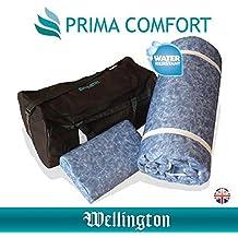 La wellington-prima comodidad de espuma de memoria de viaje almohada resistente al agua Protector