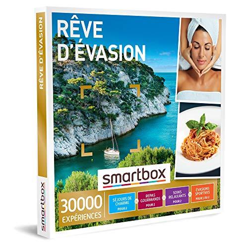 SMARTBOX - Coffret Cadeau Noël Couple - Idée cadeau original : 30 000 expériences...
