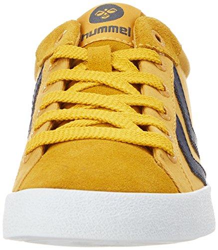 Hummel Unisex-erwachsene Deuce Court Estate Low-top Gelb (giallo Dorato)