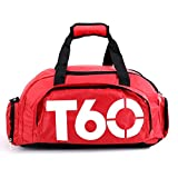 Obling 35L Sport Duffle Bag Unisex Large Capacity Gym Backpack with Shoes Compartment