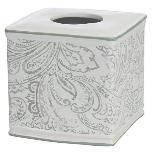 Jennifer Adams Beaumont Boutique Tissue Spender, Keramik (Kunststoff-speicher-organisatoren)