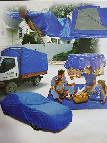 Toldo Lona 4x10 Reforzado Funda Impermeable Camping Caravana Jardin Pintar Obra