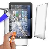 Theoutlettablet Protector Cristal Templado Universal Compatible con Tablet SPC Glee 10.1' / SPC Dark Glow 10.1' / SPC Blink 10.1'