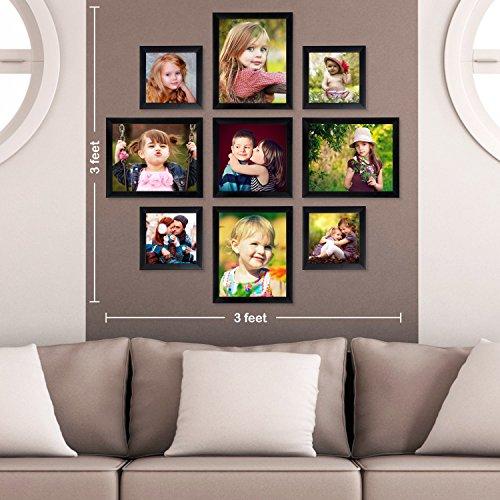 Ajanta Royal Classic Set Of 9 Individual Photo Frames (4-8X10, 4-6X6 &...