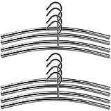 Com-Four-8-x-cintre-en-acier-inoxydable-lgant-Cintres-de-garde-robe