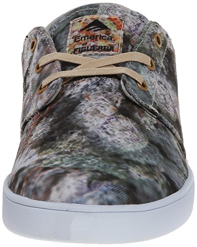 Emerica The Figueroa, Herren Skateboardschuhe green