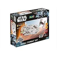 Revell-Modellbausatz-Star-Wars-Jakku-Combat-Set-im-Mastab-151-Level-1-originalgetreue-Nachbildung-mit-vielen-Details-Build-Play-mit-LightSound-zum-Bauen-Spielen-06758 Revell Modellbausatz Star Wars Jakku Combat Set im Maßstab 1:51, Level 1, originalgetreue Nachbildung mit vielen Details, Build & Play mit Light&Sound, zum Bauen & Spielen, 06758 -