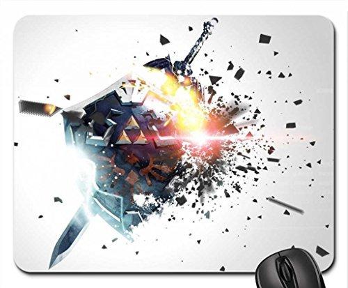 Preisvergleich Produktbild Zelda–HD Mauspad, Mousepad (25,9x 21,1x 0,3cm)
