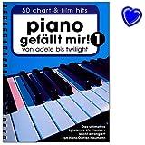Piano gefällt mir! Band 1 Spiralbindung - 50 Chart und Film Hits von Adele bis Twilight. Das ultimative Spielbuch für Klavier mit Notenklammer - BOE7788-9783865438911