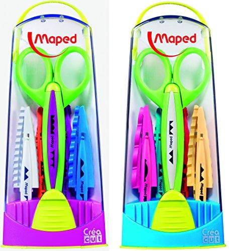 Maped 601005 - Tijera corte zig-zag surtidos: modelos