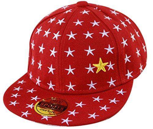 belsen-kind-hip-hop-stern-hut-unisex-baseball-cap-mehrfarbig-einheitsgrosse