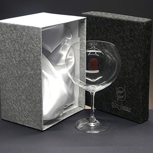 Set/Estuche de 1 copa de cristal para gin tonic, colección
